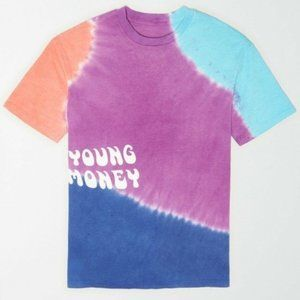 Young Money x American Eagle Outfitters Men Tie Dye Crew neck T-shirt